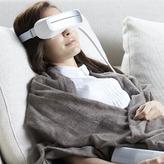 新品8折閃購★【AURAI】水波式冷熱敷按摩眼罩-限時送亮瞳葉黃素30入